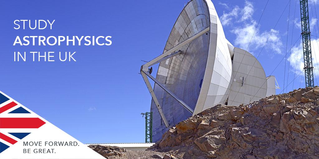 İngiltere'de Astrofizik Eğitimi Alın