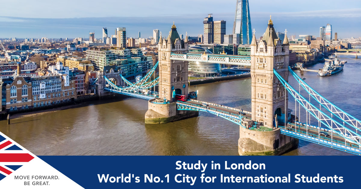 Study in London, World's Best Student City