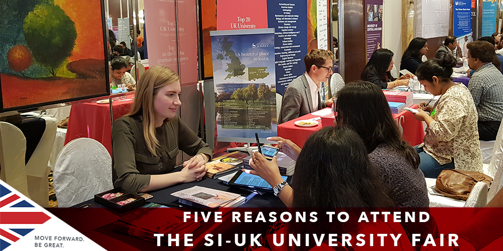 Reasons to Attend UK University Fair