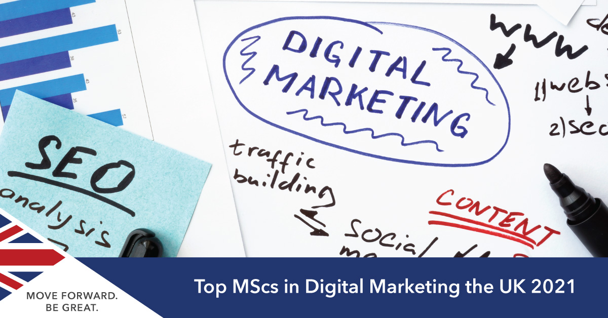 Studying digital marketing in the UK