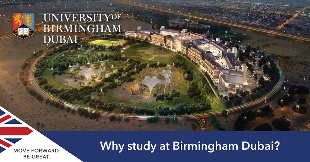 Studying at Birmingham Dubai