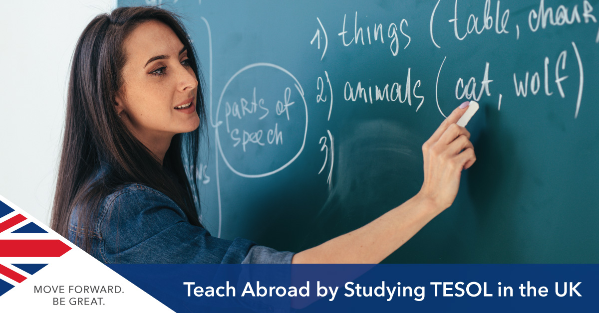 Study TESOL in the UK