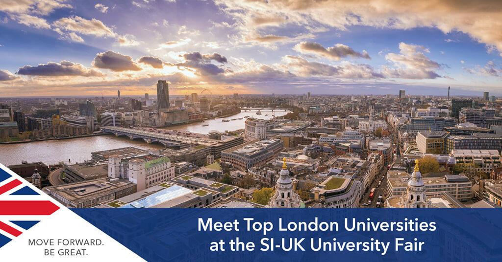 London Universities at SI-UK Fair