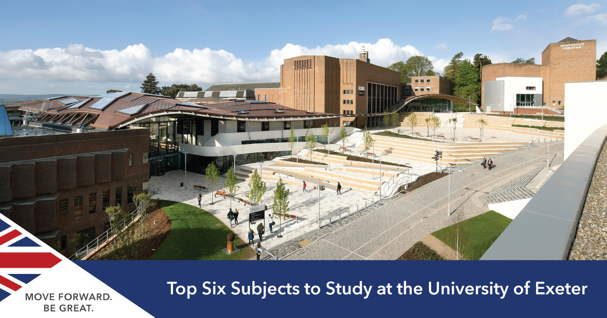 Subjects to study at Exeter