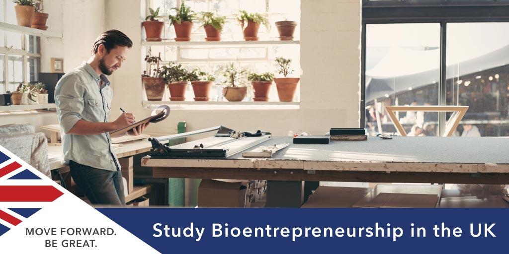 Study  Bioentrepreneurship in the UK