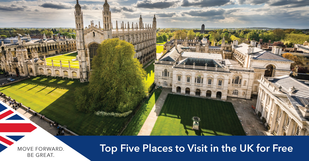 Top Free Attractions in the UK