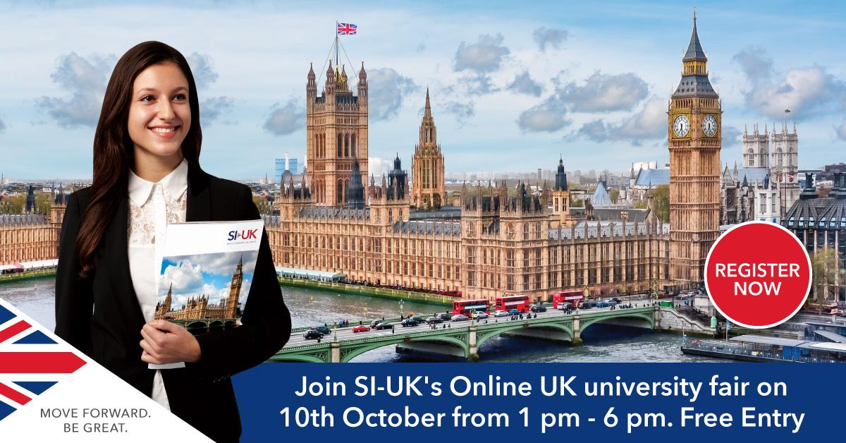 UK University Fair Online