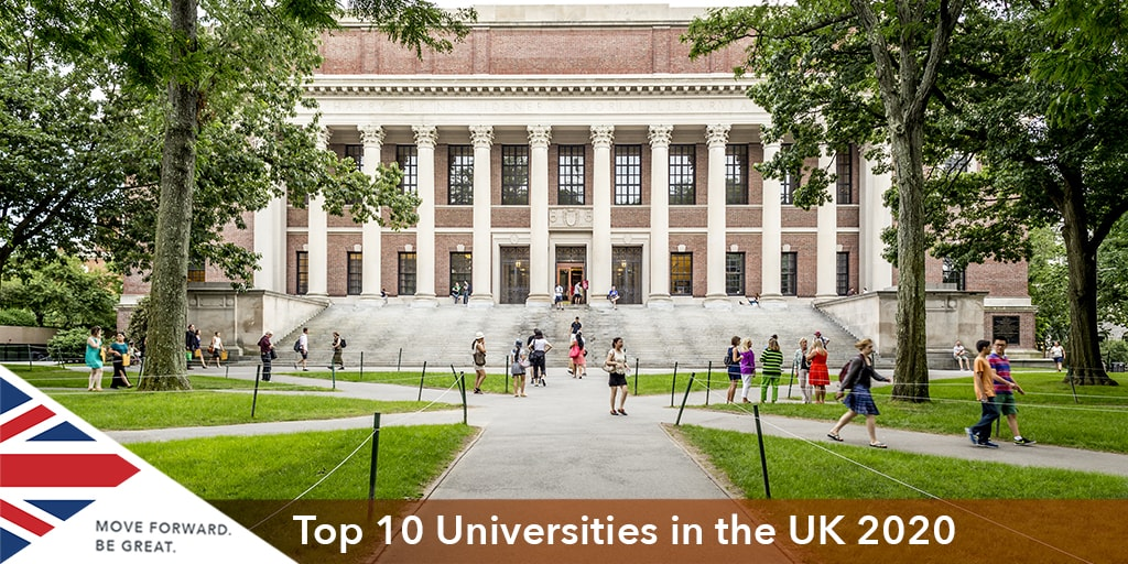 İngiltere'nin en iyi 10 Üniversitesi 2020